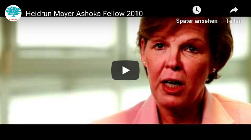 Ashoka Fellow Heidrun Mayer